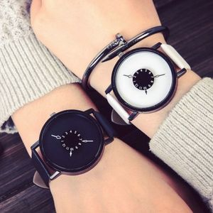 Other - NEW Creative Unisex Leather Strap Quartz Watch